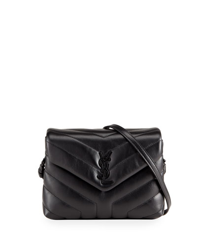 Loulou Toy Monogram YSL  Quilted Shoulder Bag