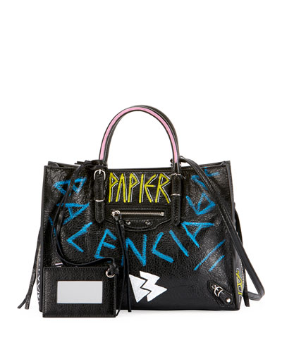 Side Zip Tote Handbag  f5ea39fbc8a6a