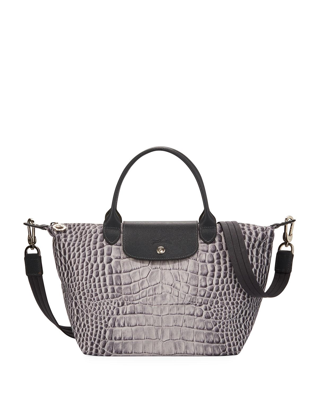 Le Pliage Croc Small Handbag