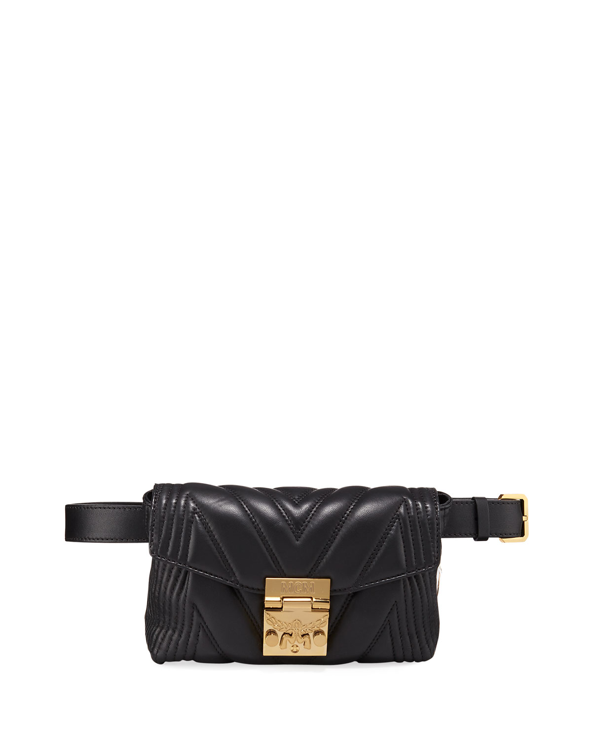 Patricia Small Quilted Leather Crossbody Belt Bag