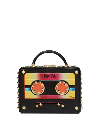 Berlin Small Cassette Tape Crossbody Bag