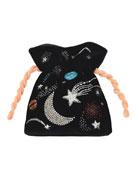 Les Petits Joueurs Beaded Universe Trilly Bag