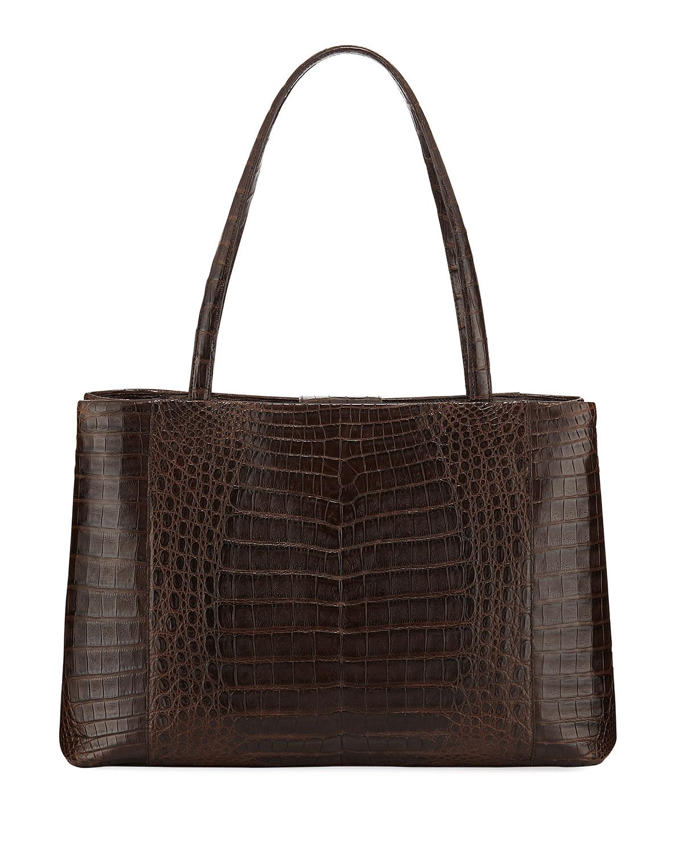 Analise Crocodile Work Tote Bag