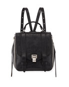 Proenza Schouler PS1 Zip Paper Leather Backpack