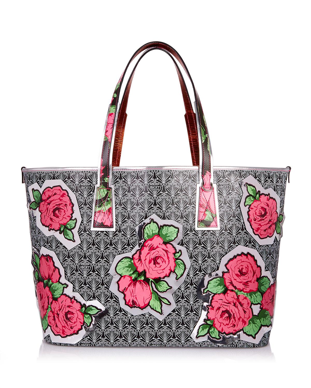 RQ Iphis Marlborough Rose Tote Bag
