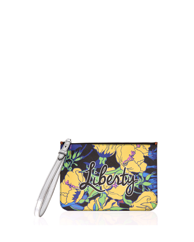 RQ Phlox Wristlet Pouch Bag