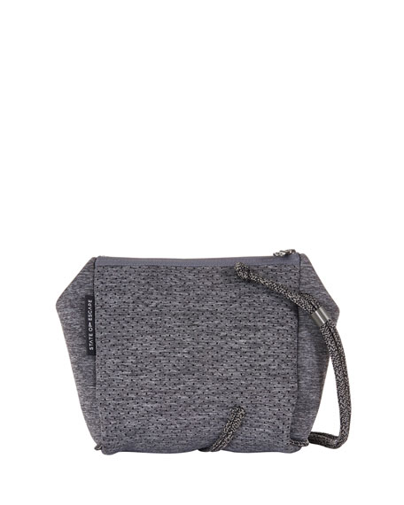 State of Escape Festival Mini Crossbody Bag, Luxe Charcoal Marl