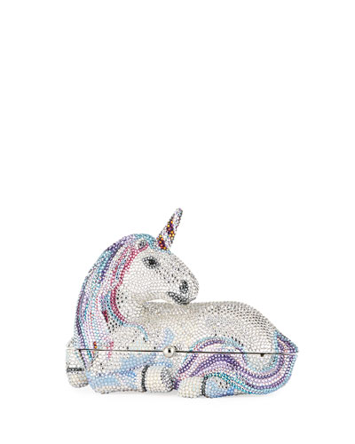 Unicorn Crystal Clutch Bag