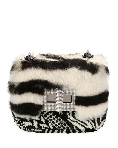 Quick Look. TOM FORD · Natalia Small Soft Tiger-Print Fur Shoulder Bag c7154068d4431