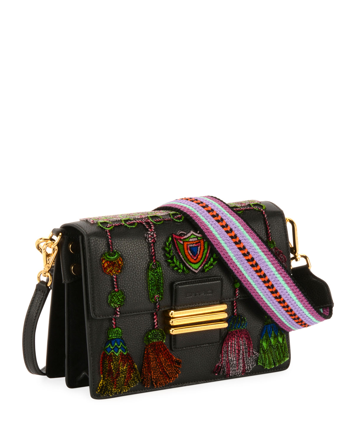 B Tracolla Rainbow Soft Shoulder Bag