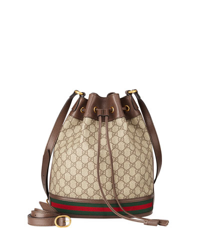 cb90c163d4a Quick Look. Gucci · Ophidia GG Supreme Canvas Drawstring Bucket Bag