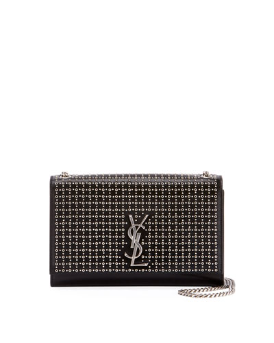 Kate Monogram YSL Medium Oeillet-Stud Chain Shoulder Bag