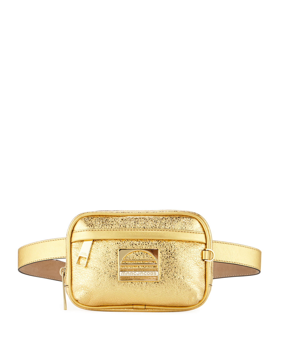 SPORT METALLIC LEATHER BELT BAG/FANNY PACK from Neiman Marcus