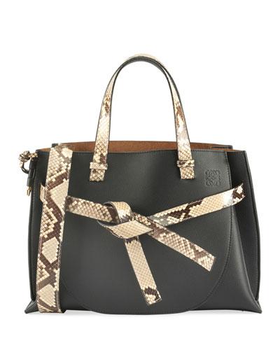 f06c58c2fa8a Leather Flat Top Handles Bag