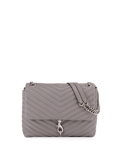 a7caf8ce7e11 Quick Look. Rebecca Minkoff · Edie Quilted Leather Flap Shoulder Bag