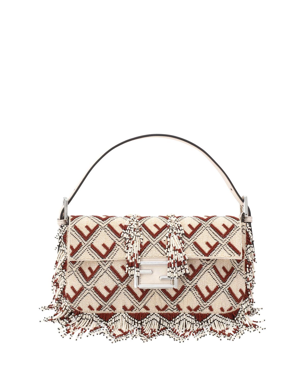BAGUETTE FF BEADED SHOULDER BAG from Neiman Marcus