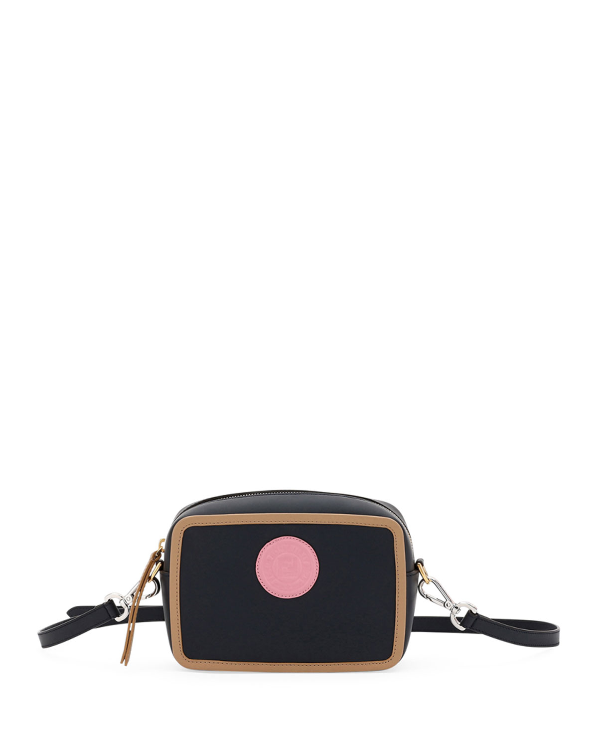 CAM CALF LEATHER CROSSBODY BAG from Neiman Marcus