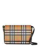 Burberry Hampshire Vintage Check Shoulder Bag