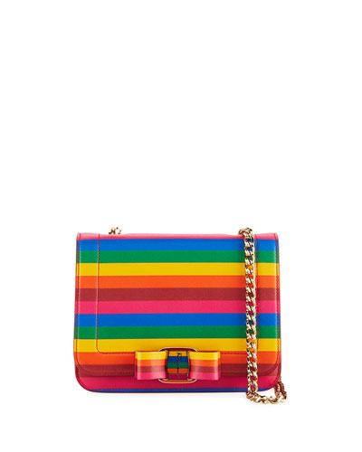 Vara Rainbow Crossbody Bag