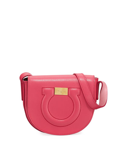 85cbc9850247 Quick Look. Salvatore Ferragamo · Gancio City Crossbody Bag ...