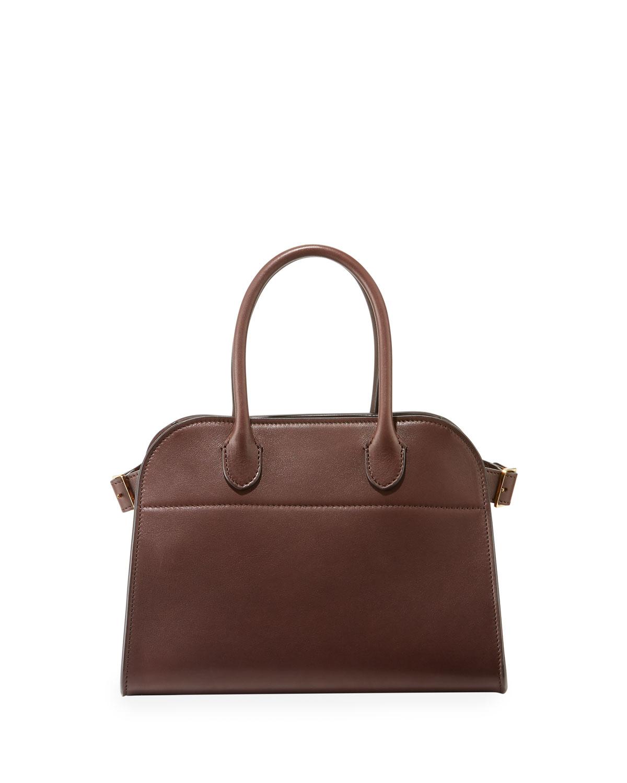 Margaux Smooth Calfskin Top Handle Bag