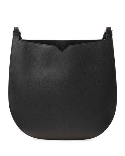 Weekend Hobo Large Leather Shoulder Bag