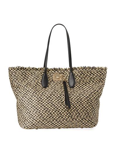 6b74657118 Quick Look. Salvatore Ferragamo · The Studio Medium Tote Bag