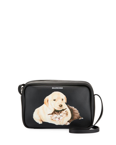 Every Cam Small AJ Puppies N Kittens Crossbody Bag