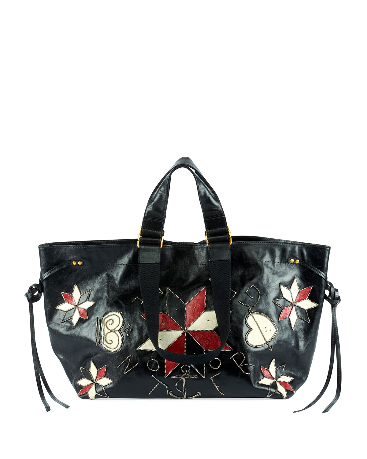 Wardy Patchwork Shopper Tote Bag
