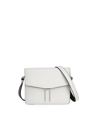 Mini H Pebbled Crossbody Bag