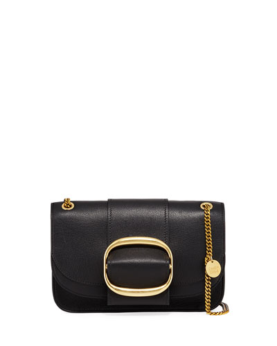 6aefd1f5e8e217 Quick Look. See by Chloe · Hopper Medium Leather Shoulder Bag. Available in  Black