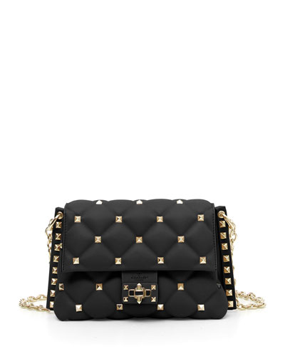 Candystud Small Leather Crossbody Bag