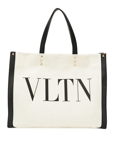 VLTN Grande Plage Small Tote Bag