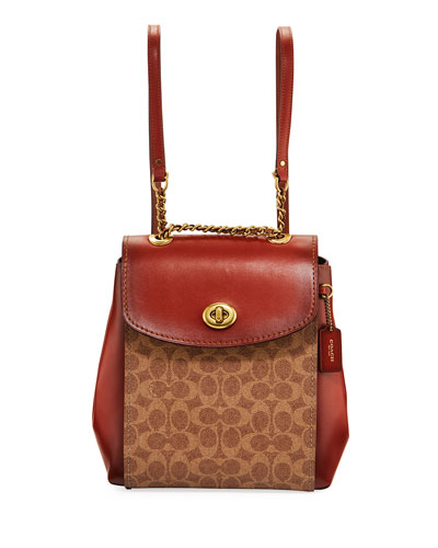696579cda8e8 Quick Look. Coach 1941 · Parker Coated Canvas Backpack