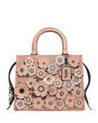 Coach 1941 Rogue 25 Crystal Tea Rose Tote