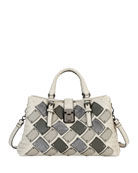 Bottega Veneta Small Roma Patchwork Tote Bag