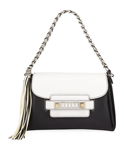 PS11 Two-Tone Classic Crossbody Bag