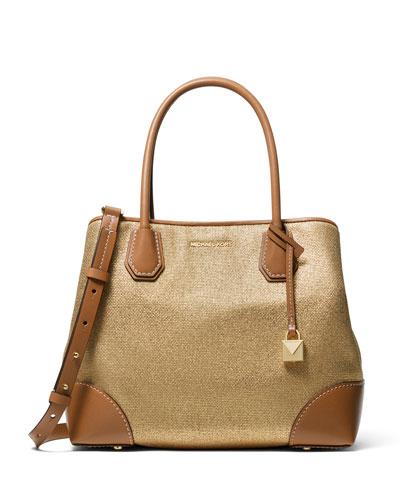 36b156a86881 Quick Look. MICHAEL Michael Kors · Mercer Gallery Medium Canvas Tote Bag