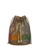 Christian Louboutin Marie Jane Lace Bucket Bag