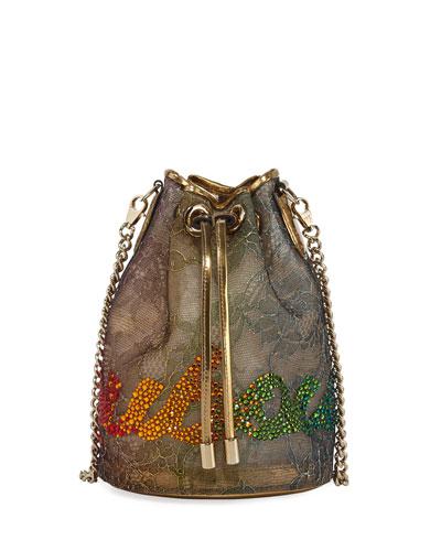 Marie Jane Lace Bucket Bag