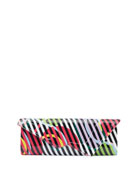 Christian Louboutin So Kate Cinestripes Patent Clutch Bag
