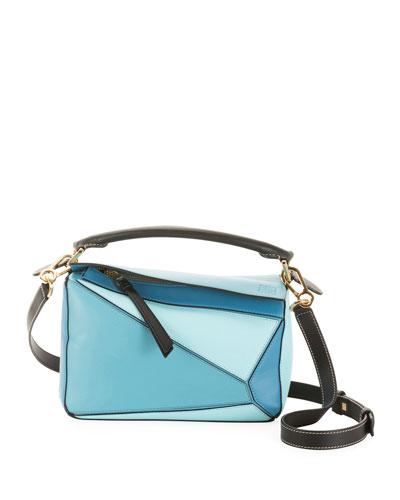 Puzzle Small Classic Satchel Bag