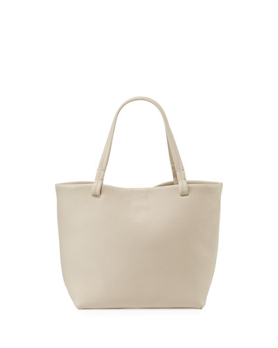 Park Small Fine Grained Leather Tote Bag