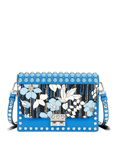 Large Prada Elektra Crossbody Bag