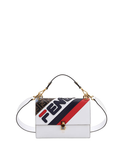 1e10d730ce Quick Look. Fendi · Kan I Fendi Mania Striped Shoulder Bag