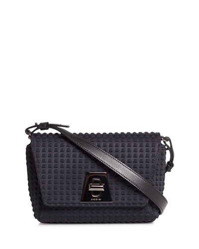 Anouk Little Day Techno Fabric Crossbody Bag