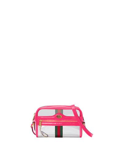 1f698e2a69 Quick Look. Gucci · Ophidia Mini See-Through Vinyl Crossbody Bag