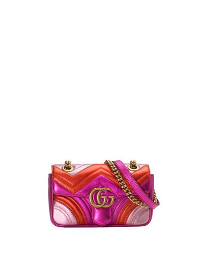 cede1734678 Gg Leather Shoulder Strap Handbag