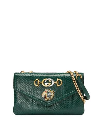 ab519f78a5 Quick Look. Gucci · Lizard Embellished Shoulder Bag