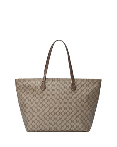087637202 Gucci Shoulder Straps Tote Bag | Neiman Marcus